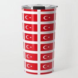 flag of turkey -turkey,Turkish,Türkiye,Turks,Kurds,ottoman,istanbul,constantinople. Travel Mug