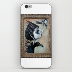 raven witch iPhone & iPod Skin