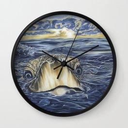 Atlantic ridley sea turtle Wall Clock