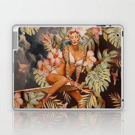 Swimming in the jungle Laptop & iPad Skin