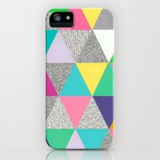 triangle party iPhone (5, 5s) Slim Case