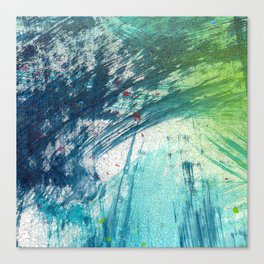 Variations in blue 3 Canvas Print