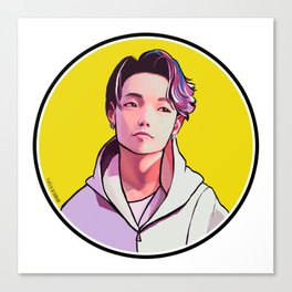 iKON Rainbow - Bobby Canvas Print