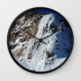 mountain 1 Wall Clock