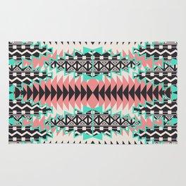 Tribal Beat Geo Pastel Rug