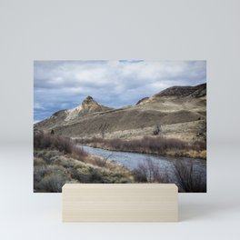 John Day River and Sheep Rock Mini Art Print