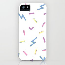 Jazzy Confetti Dance Party iPhone Case