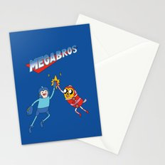 Mega Bros Stationery Cards