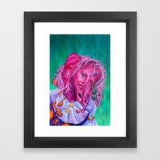 Blobby Baby Framed Art Print