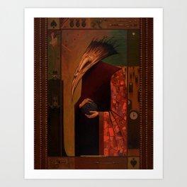 The Deathbird Art Print