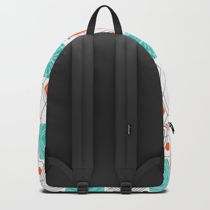 Too Hip To Be Square Backpack