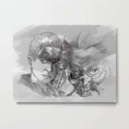 Fury Metal Print