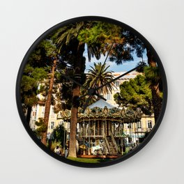 Dream park, Nice France Wall Clock