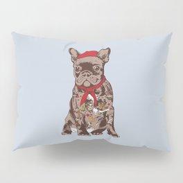 French Bulldog Tattoo Pillow Sham