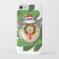 cartoons iPhone & iPod Cases featuring Christmas Cartoons by Erica_art