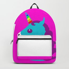 Portrait  of a Unicorn Backpack