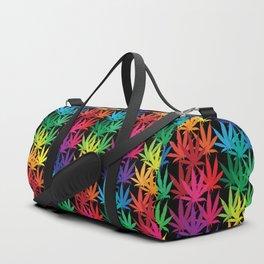 Cannabis Rainbow Duffle Bag