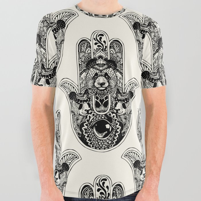 Hamsa_Hand_Panda_All_Over_Graphic_Tee_by_Huebucket__Small
