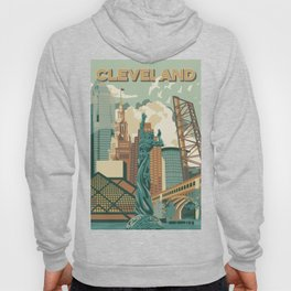 Cleveland City Scape Hoody