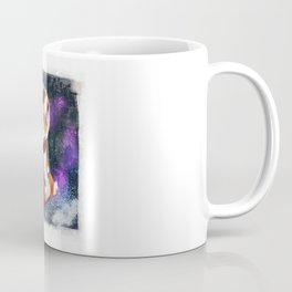 Space Corgi - Blue Coffee Mug