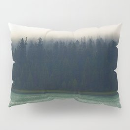 Faded Forest And Lake Pillow Sham