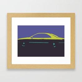 Caddy pop Framed Art Print