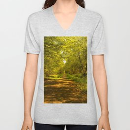 Woodland Views. Unisex V-Neck