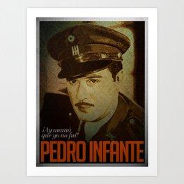 Pedro Infante Art Print