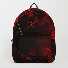 Wonderful red chinese dragon Backpack