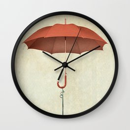 Water Landing Bug Wall Clock