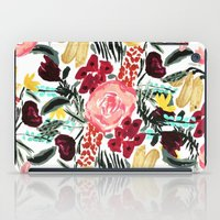 garden iPad Cases featuring Wild Garden II by Bouffants and Broken Hearts