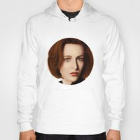 dana scully Hoodies featuring Scully by Alexia Rose