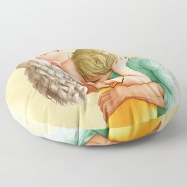 You Leave Me Breathless - Nikolina Floor Pillow