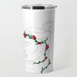 Flower Crown Travel Mug