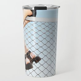 Echoes of the Ongoing Riot Travel Mug