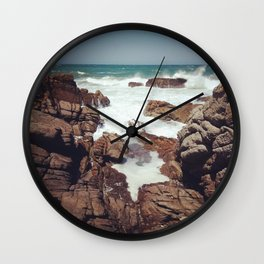 West Coast rocks Wall Clock