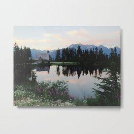 Highwood Lake Metal Print