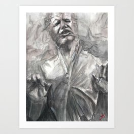 Han in Carbonite Art Print