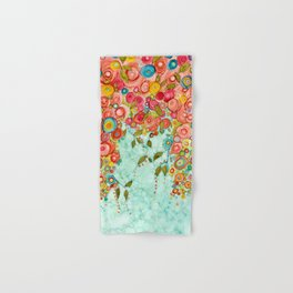 Refresh Floral Hand & Bath Towel