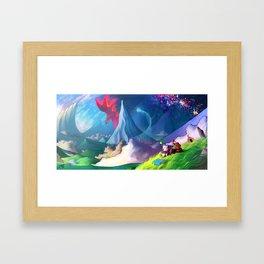 moogle Framed Art Print