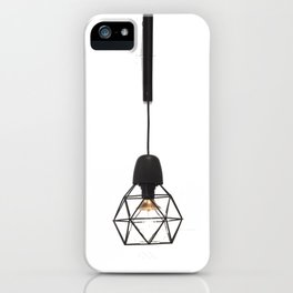 Modern Lamp (Color) iPhone Case