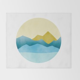 Ode to Pacific Northwest 1 Throw Blanket