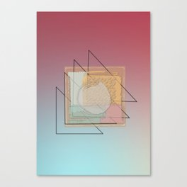 Tritone V Canvas Print