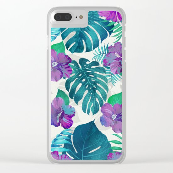 My Tropical Garden 20 Clear iPhone Case