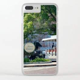 Historical Tour Clear iPhone Case