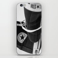 converse iPhone & iPod Skins featuring Converse by Jessy Belanger