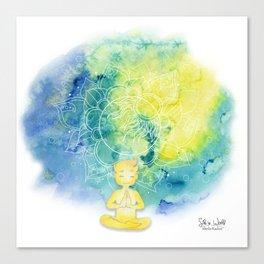 Small ray of sunshine Canvas Print
