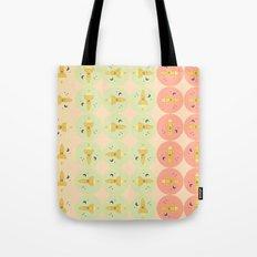Spaceships pattern Tote Bag