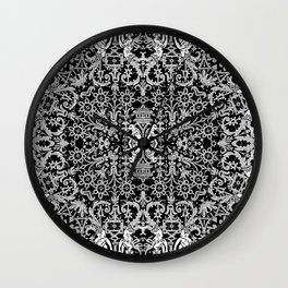 Lace Variation 01 Wall Clock