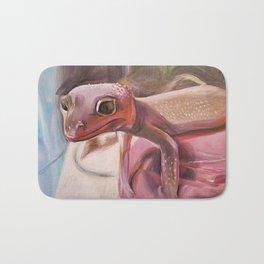 Patternless Leopard Gecko Bath Mat